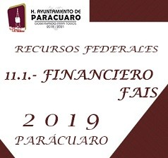 11.1.- financiero FAIS