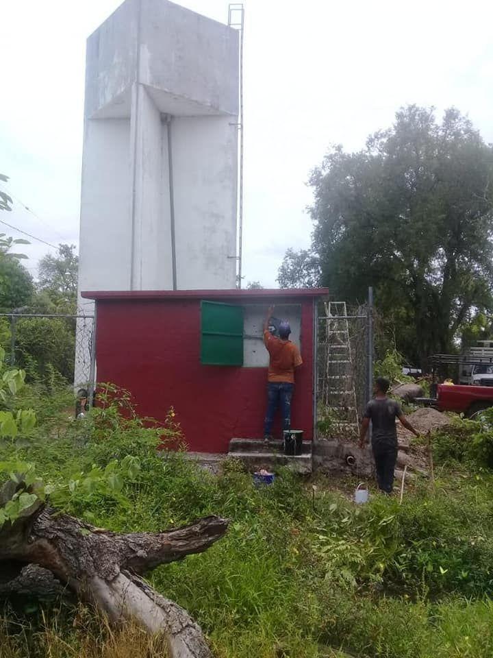 Rehabilitación de la Caseta y Equipo de Cloración en la comunidad de Los Pozos