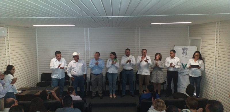 Firma del Convenio con Comisión Ejecutiva Estatal de Atención a Victimas en la Ciudad de Apatzingan
